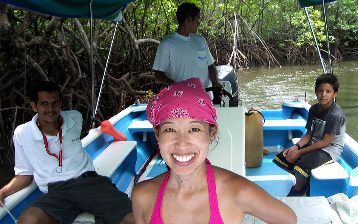 Your Costa Rica adventure vacation can include wildlife spotting on a mangrove tour.