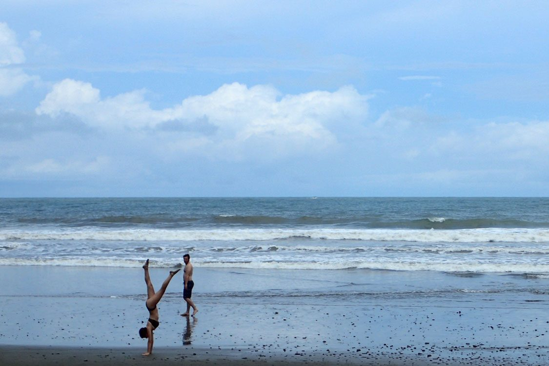 Guests enjoy solitude at our Costa Rica beach resort.