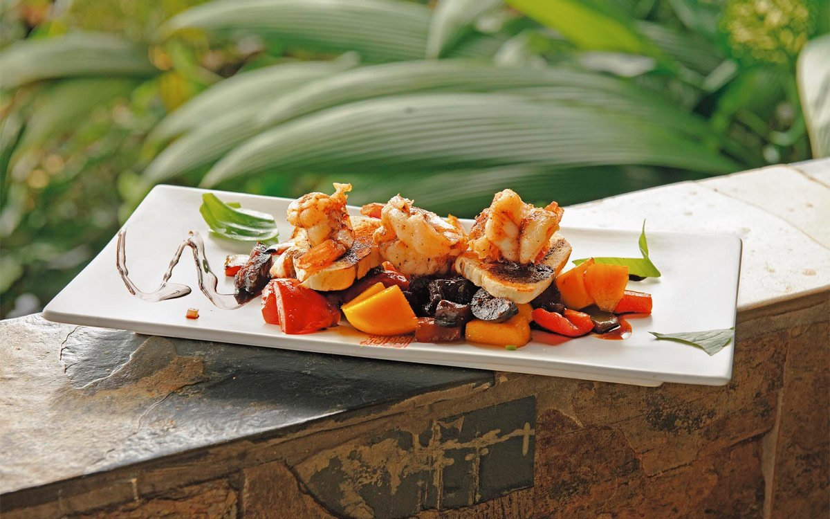 The dining experience at Rancho Pacifico Costa Rica resort.