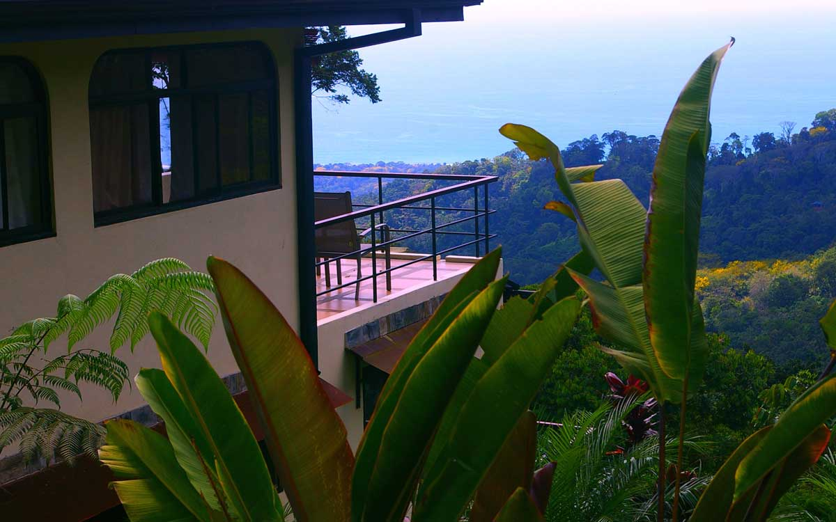 View from costa rica private villa