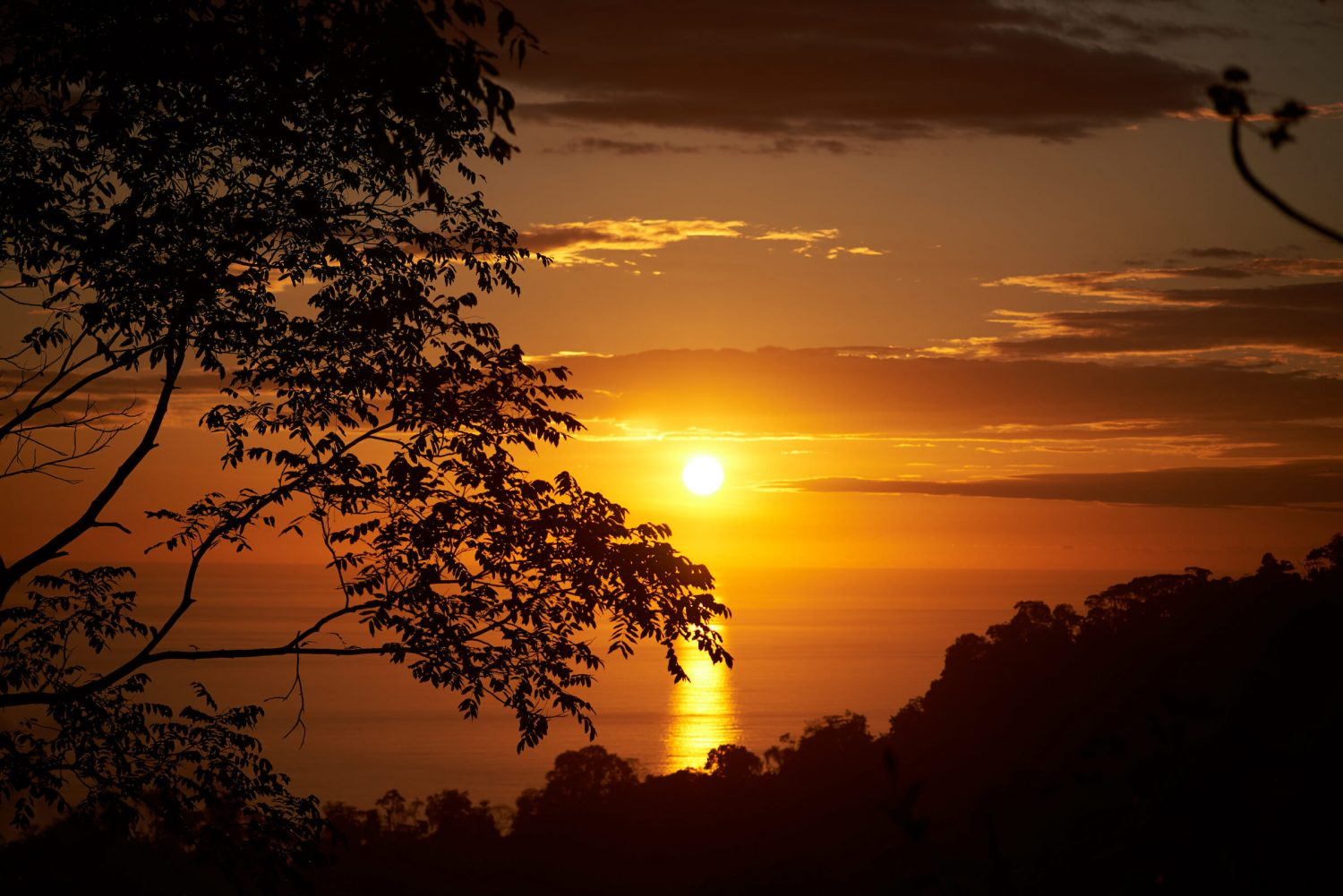 Another amazing sunset at the Rancho Pacifico Costa Rica luxury resort.