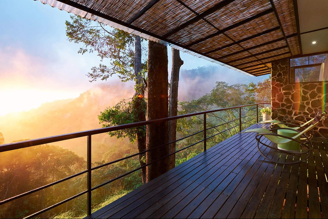 Our treehouse hotel Costa Rica offers the most incredible views.