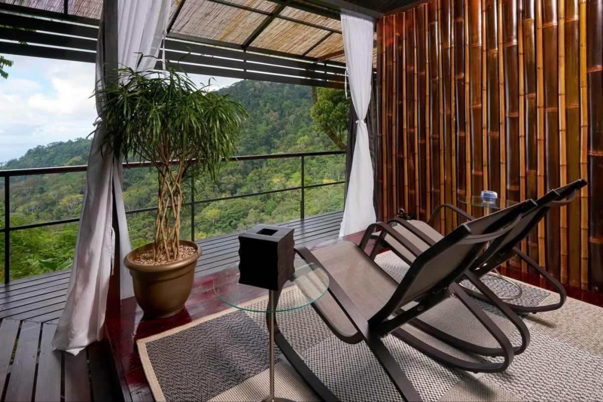 The meditation room at the Rancho Pacifico Costa Rica spa resort.