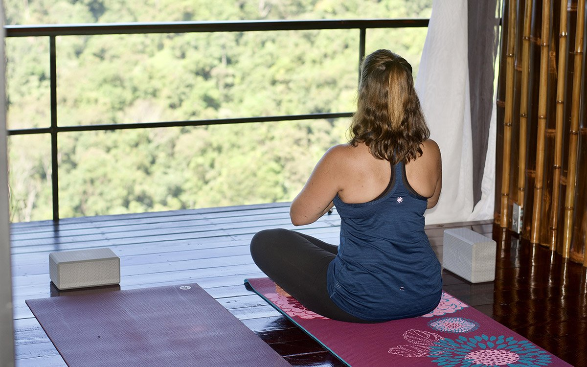 Yoga can be part of your Costa Rica adventure vacation.