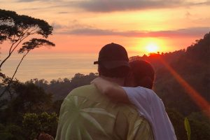 Celebrate your Costa Rica honeymoon with sunsets like this.