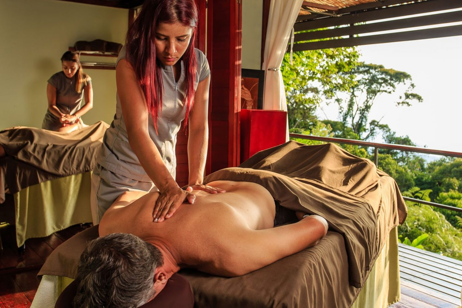 Massage therapy is a feature of the RP Costa Rica spa resort.