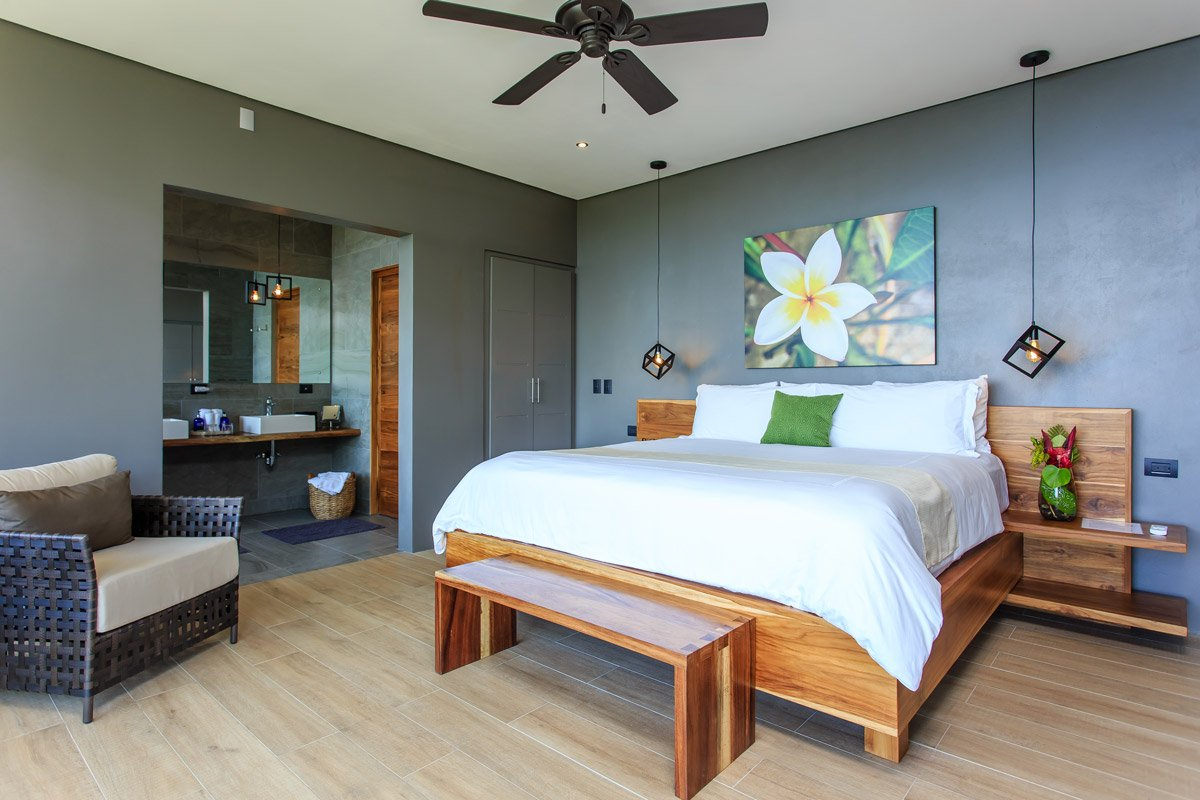 One of our spacious Costa Rica suites.