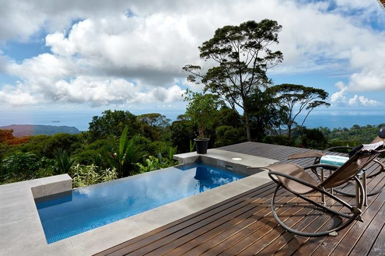 Ocean views from one of our Costa Rica luxury villas.