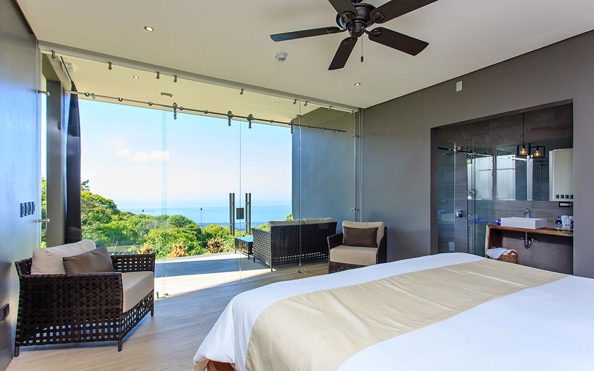 Costa Rica suite with ocean view.