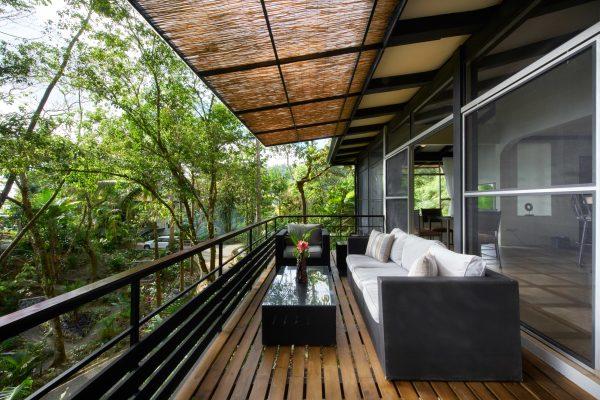 Garden Deck with Ocean View