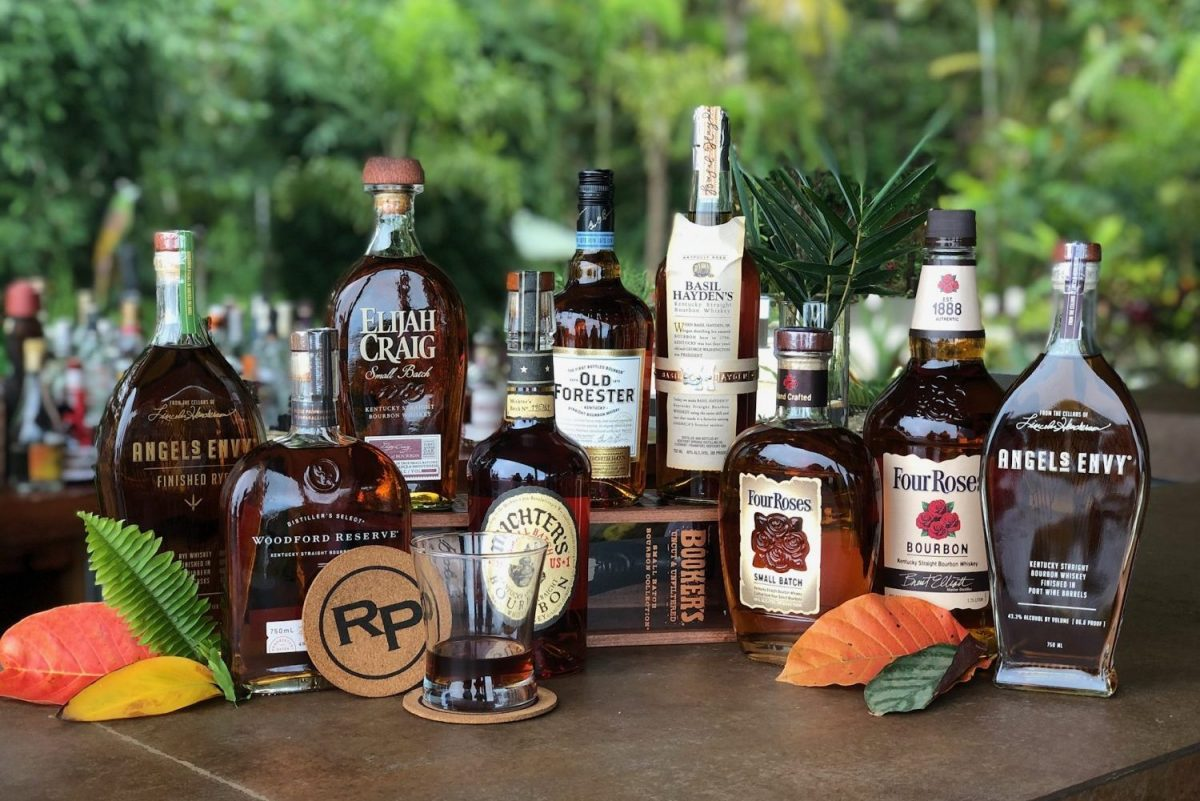 Costa Rica's best bourbon collection