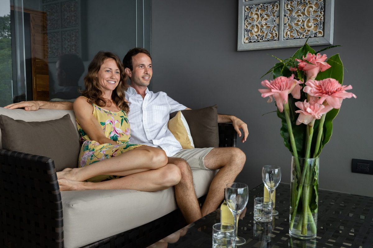 Luxury suite at Rancho Pacifico