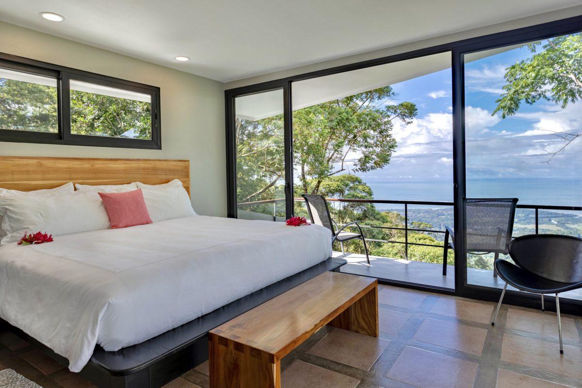 Villa Bedroom with Ocean View