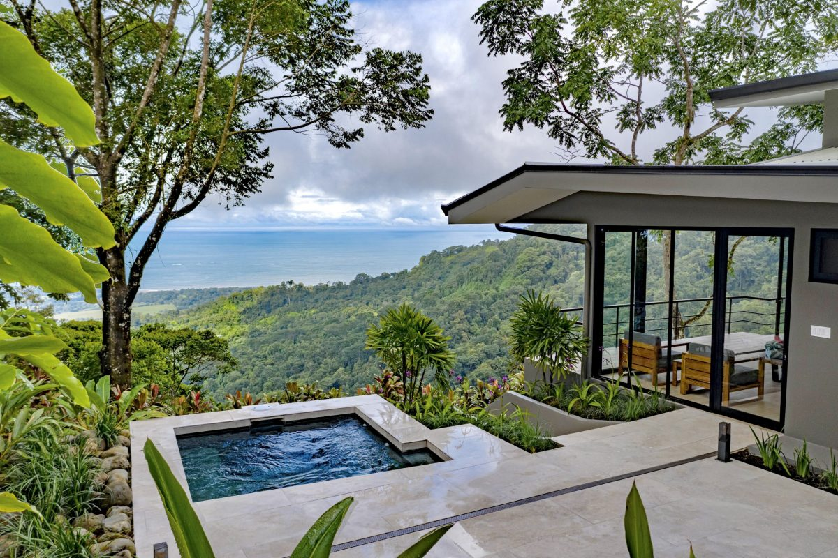 Heated Plunge Pool with Ocean View